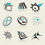 Vector design elements..can be used as logo Royalty Free Stock Image