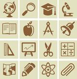 Vector design elements for school and university Royalty Free Stock Photography