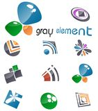 Vector design elements. Set 10. Stock Photography
