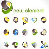 Vector design elements. Set 13. Royalty Free Stock Photography