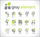 Vector design elements. Set 2. Royalty Free Stock Image
