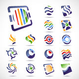 Vector design elements. Set 23. Stock Photo