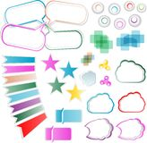 Vector design elements set Stock Photos