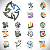 Vector design elements. Set 24. Royalty Free Stock Photography