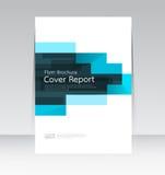 Vector Design für Abdeckungs-Berichts-Broschüren-Flieger in der Größe A4 stock abbildung