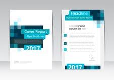 Vector Design für Abdeckungs-Berichts-Broschüren-Flieger-Plakat in der Größe A4 vektor abbildung