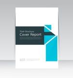 Vector Design für Abdeckungs-Berichts-jährliches Flieger-Plakat in der Größe A4 stock abbildung