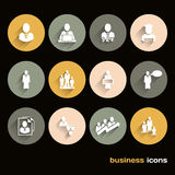 Vector Design Flat icons for web and business Royalty Free Stock Image