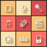 Vector design flat icons Stock Photo
