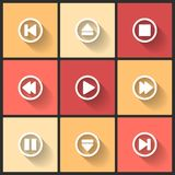 Vector design flat icons Royalty Free Stock Photography