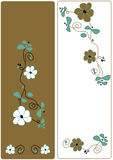 Vector design floral Stock Photography