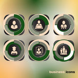Vector Design icons for web and business Royalty Free Stock Image