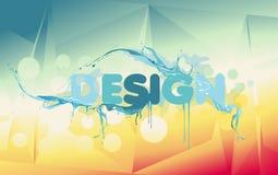 Vector design illustration Stock Photography