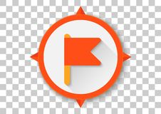 Google expeditions apk icon. Vector design of mobile app brand with trademark logo Stock Images