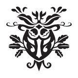 Vector design of motif on white background Royalty Free Stock Images
