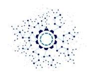Vector design Network Technology background. Stock Photos