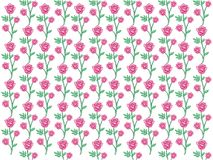 Vector design of rose seamless pattern background. Vector design of ornamental rose seamless pattern background for wallpaper, fabric pattern template and more Royalty Free Stock Photography