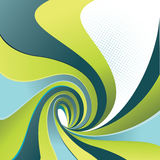 Vector design with spiral motion. Stock Images