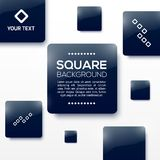 Vector Design Squares Concept. Vector Illustration Stock Images