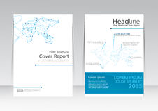 Vector design technology business for Cover Report Brochure Flyer Poster in A4 size Stock Photography