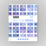 Vector design template layout for brochure, cover, infographic. Vector design template layout for brochure, cover, illustration, infographic Stock Images