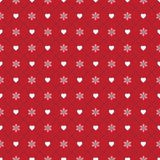 Vector design template, seamless pattern for christmas festival. Vector of packaging design template, seamless pattern for christmas festival on red background Royalty Free Stock Images