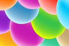 Vector design template in trendy bright gradient colors with abstract fluid shapes , Easter eggs stock illustration