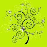 Vector design tree Stock Image