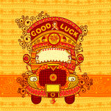 Vector design of truck India royalty free illustration