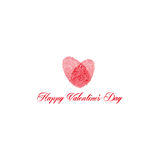 Vector design valentine`s day Royalty Free Stock Image