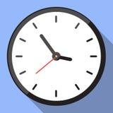 Vector design : Wall Clock flat design. Royalty Free Stock Image