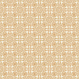 Vector designer seamless floral wallpaper Royalty Free Stock Photo