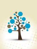 Vector designer tree Stock Photo