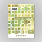 Vector Designschablonenplan für Broschüre, die Abdeckung, infographic stock abbildung
