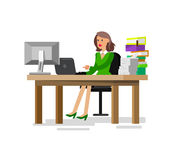 Vector detailed character corporate business team Stock Photo