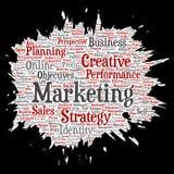 Vector development business marketing target Stock Images