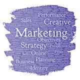Vector development business marketing target Royalty Free Stock Image