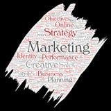 Vector development business marketing Stock Images