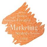 Vector development business marketing Stock Photography