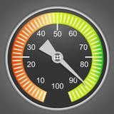 Vector device face, Manometer Stock Photos