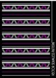 Vector diagonal del modelo del zigzag Imágenes de archivo libres de regalías