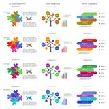 Vector illustration of infographics. Abstract elements of graph, diagram, Vector business template for presentation. Stock Photos