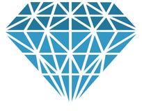 Vector diamant Royalty-vrije Stock Afbeeldingen