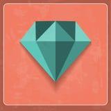 Vector diamond Royalty Free Stock Photos