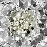 Vector Diamond Background stock illustration