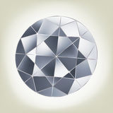 Vector diamond. EPS 8 Royalty Free Stock Photos