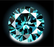 Vector diamond illustration Stock Images