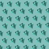 Vector diamond pattern Stock Photography