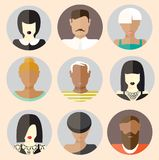 People icons. Stock Images