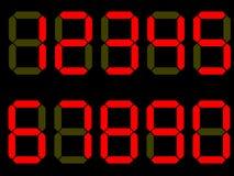 Vector Digit Numbers Stock Photos